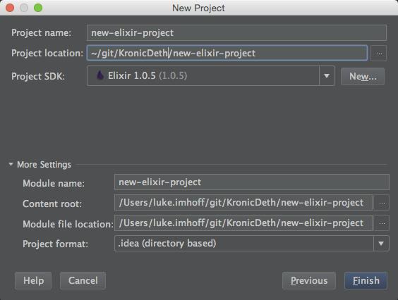 IntelliJ Elixir - Elixir plugin for JetBrain's IntelliJ Platform