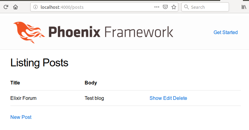 Tutorial on how to create blog using Phoenix? - Learning