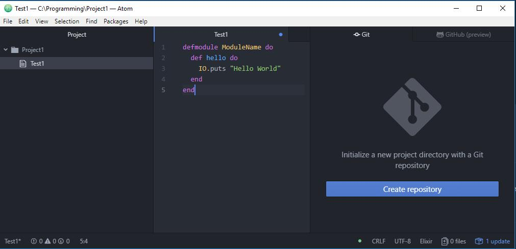 Run code directly in Atom? - Questions / Help - Elixir Forum