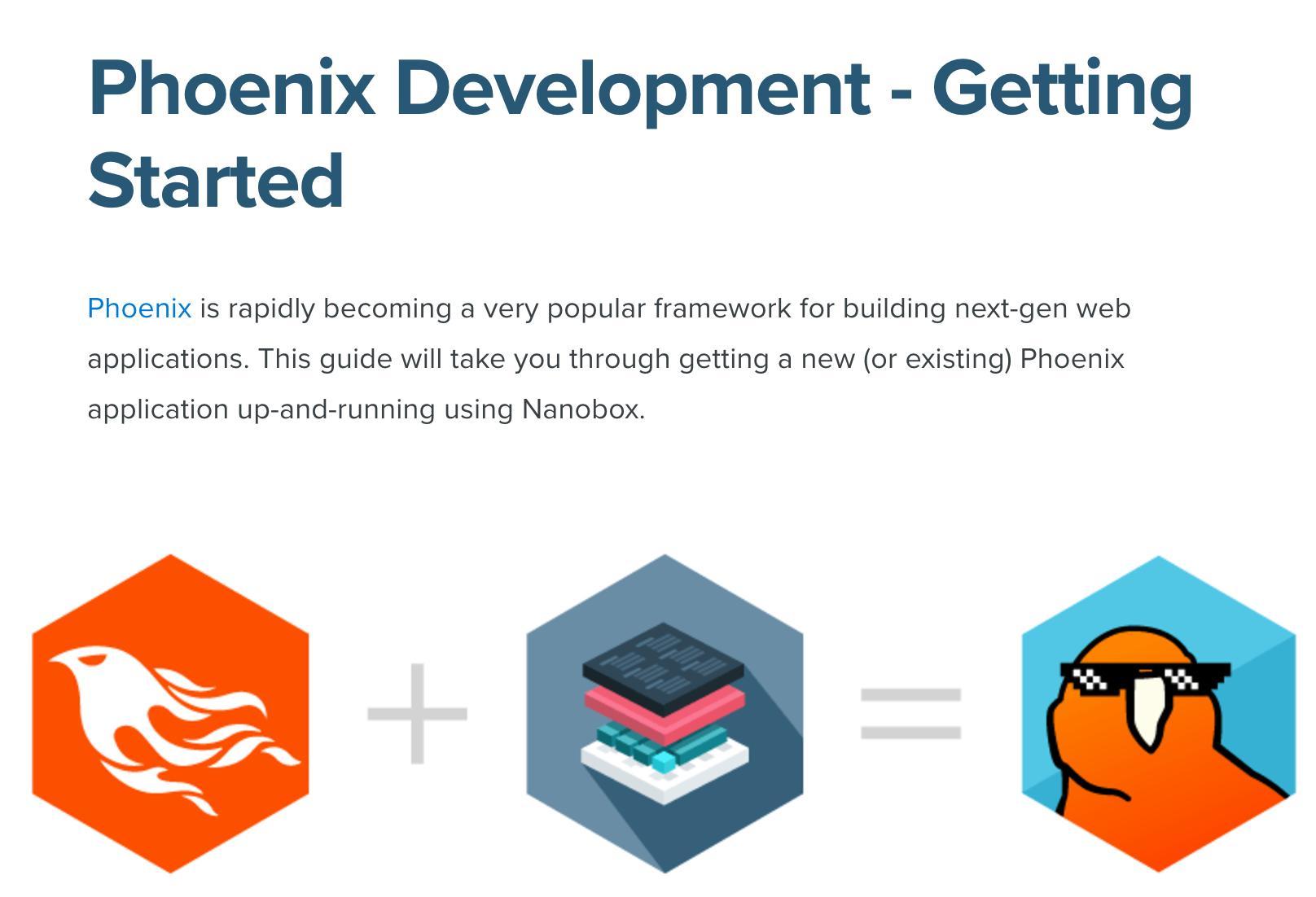 Phoenix & Nanobox - Getting Started Tutorial - Guides / Tips