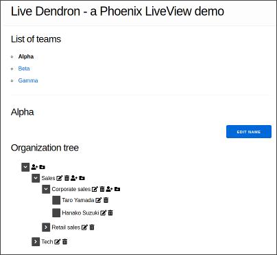 live-dendron-screenshot